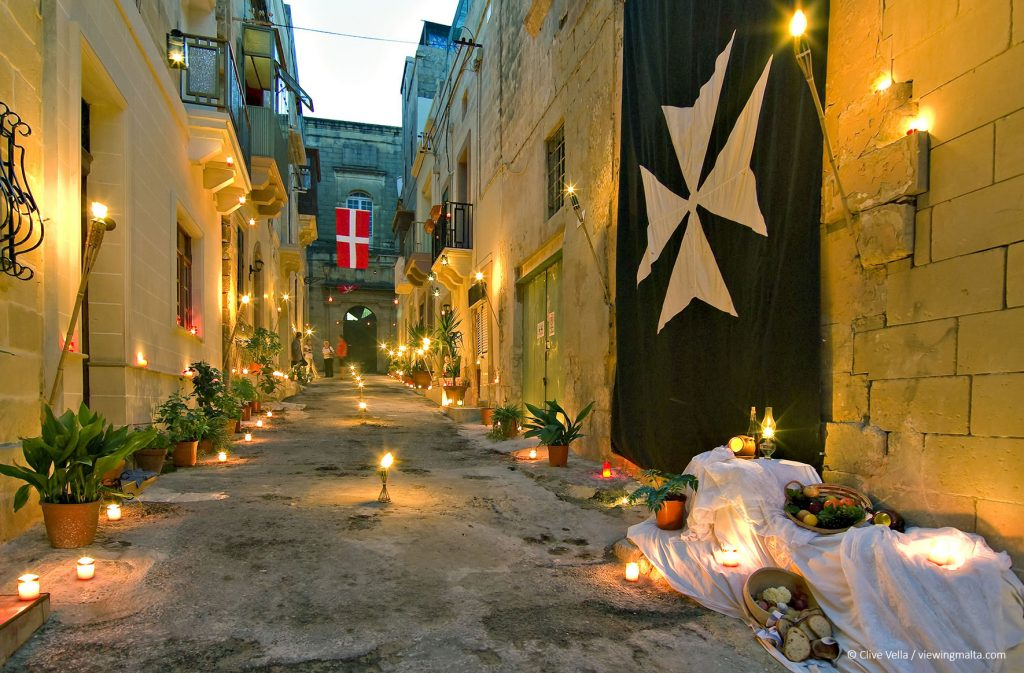 Birgu_By_Candlelight_(c)-viewingmalta_Clive-Vella
