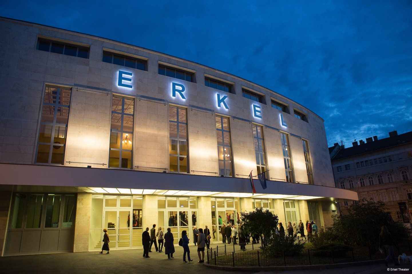 Erkel Theater outside
