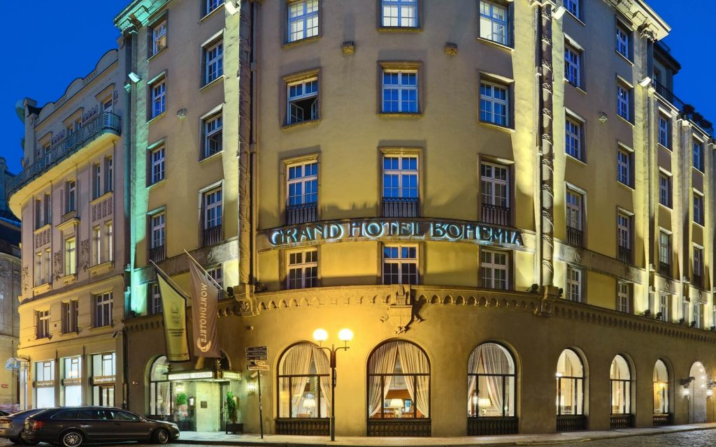 Zu mozarts don giovanni nach prag mit for Grand hotel bohemia prague restaurant